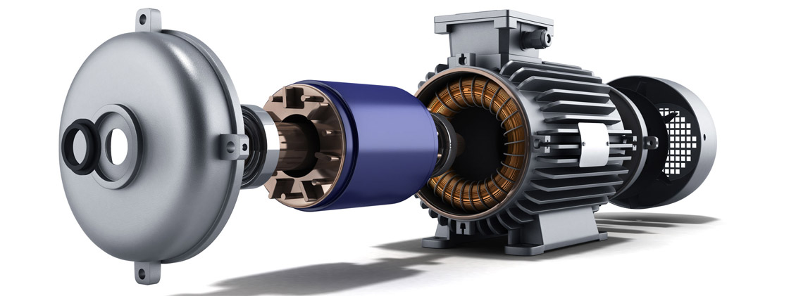 Electric motors supply